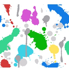 color splash paint seamless vector image vector image