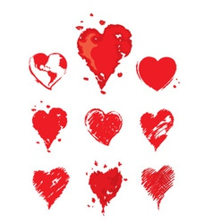 Collection - heart vector image