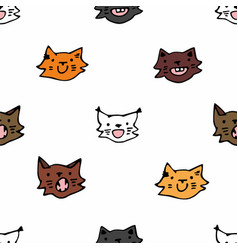 cute kittens of different colors vector image