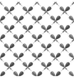 Darts seamless pattern vector
