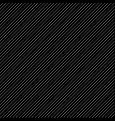 Diagonal slanting lines black and white vector