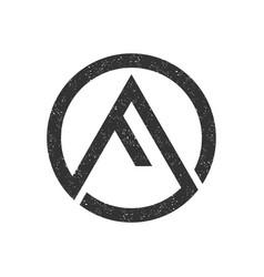 F letter logo simple minimalist design vector
