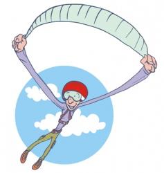 Paraglider vector