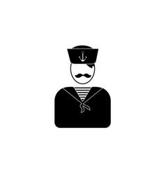 sailor avatar iconelement of popular avatars icon vector image