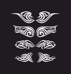 the wings of the holy spirit vector image