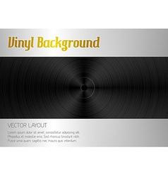 vinyl orange vector image