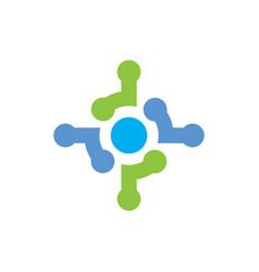 Abstract logo concept vector