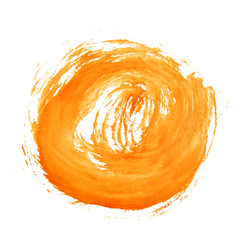abstract watercolor art hand paint vector image