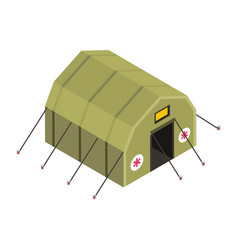 Army tent vector
