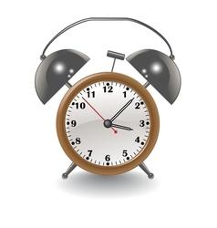 brown clock vector image