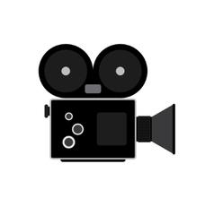 Camcorder symbol Flat vector