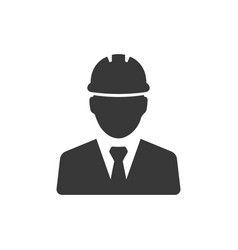 construction project manager icon images vector image