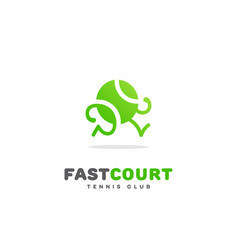 fast court vector image