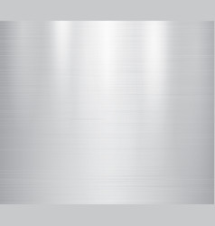 grey metal stainless steel vector image
