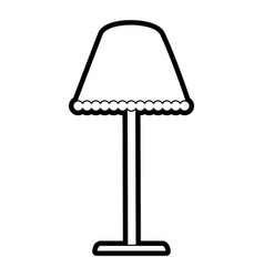 House lamp icon image vector