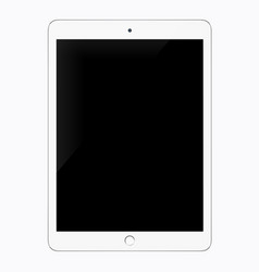 realistic tablet pc computer tablet mockup vector image
