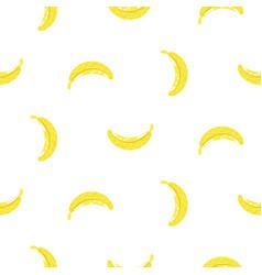 banana simple seamless pattern texture vector image