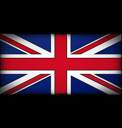 comic book uk flag vector image