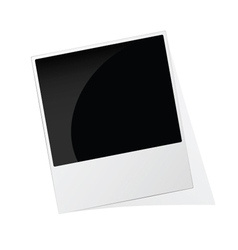 Phote frame polaroid vector