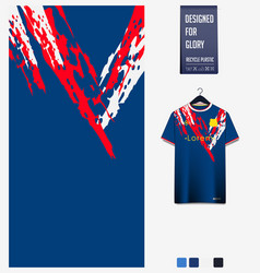 soccer jersey pattern design abstract pattern vector image