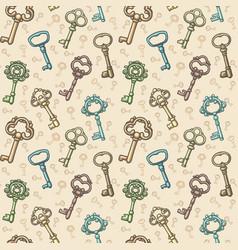 keys pattern vector image