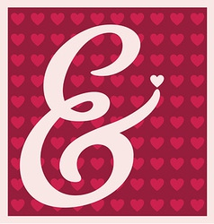 Valentines design vector