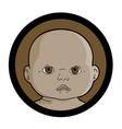 african baby vector image