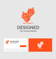 business logo template for awareness brand vector image vector image