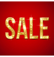 Flash sale gold vector image vector image