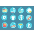 Home Cleaning Service Icons vector image