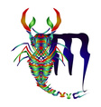 Horoscope Scorpio vector image