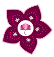 Lotus flower design vector image vector image