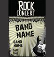 music background - rock concert 2 vector image vector image