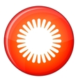 Sun icon flat style vector image vector image