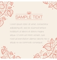 Vintage styled background vector image vector image