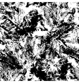 Abstract seamless pattern in black and white vector image