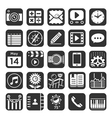 Application icons for smartphone and web vector image vector image