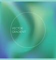 green and blue gradient background vector image vector image