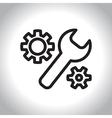 icon manufactoring vector image vector image