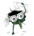 loser mosquito vector image vector image
