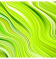 modern green flow poster wave liquid shape color vector image