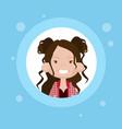 profile icon female avatar woman cartoon portrait vector image vector image