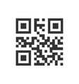 qr code icon images vector image