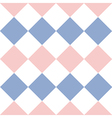 Rose Quartz Serenity White Diamond Background vector image vector image