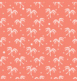 seamless bows pattern vector image vector image