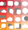 speech icon 3 vector image