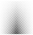 abstract monochrome polka dot pattern - geometric vector image vector image