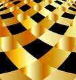Background with golden squares vector image
