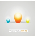 Idea business marketing strategy concept vector image vector image
