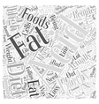 pH miracle diet and weight loss Word Cloud Concept vector image vector image